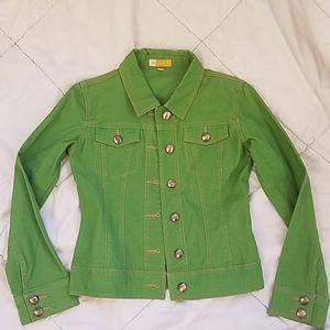 Tulle Green Jacket